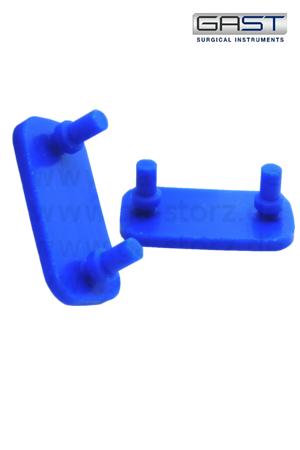 4001-blau Silikoneinlagen